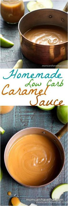 Homemade Low Carb Caramel Sauce | Mom, Can I Have That?