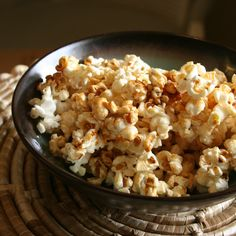 Popcorn can be healthy too!Find out why & what ingredients you can replace instead of oil,butter and all those fatty stuff