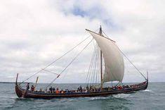 Typical danish ship - this one is called Havhingsten