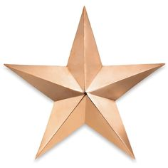 Thos. Baker Copper Barn Star (23x23) (460 GTQ) ❤ liked on Polyvore featuring home, home decor, backgrounds, stars, filler, star home decor, handmade home decor, copper home decor and copper home accessories