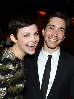 Ginnifer Goodwin & Justin Long at the Critics Choice TV Awards 2012