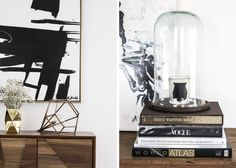 How cool is this home owned by Amanda Shadforth of Oracle Fox?! I love the mix of super modern pieces mixed with soft textiles – very bohemian and cool. Concrete and wooden floors, white, black, grey,