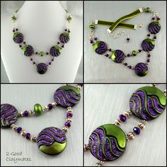 2 Good Claymates: Making a Glamour Necklace from a Button