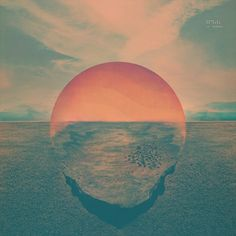 Designspiration — Tycho's Dive Album Artwork: love this calm / neutral / hopeful color palette (blues / greens / warm cement