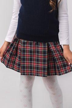 Юбки в складку для школы