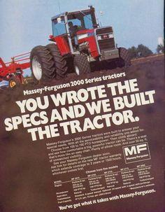 MASSEY-FERGUSON 2000 Series Tractors Ad