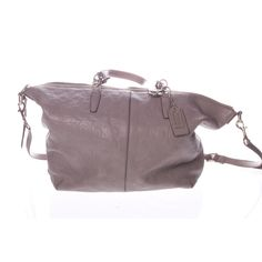 Coach Handväska  450 kr Beige, Fashion, Moda, Fashion Styles, Fashion Illustrations, Ash Beige