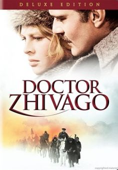 """Dr. Zhivago"" ~ Omar Sharif & Julie Christie 1965  was 16 when I saw this movie after that I love Russia, started reading Russia history ...then to more Russia novels."