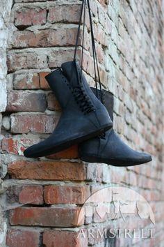 Mittelalter Stiefel Mit Schnürung kaufen