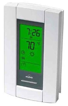 Venstar Flushmount Programmable Multi-Stage Thermostat Beige T1100FS