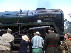Evening Star (92220) yesterday at Great Central Railway's 1940's War Weekend. Rothley, Leicestershire. June 2015