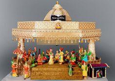 Portfolio of Kankotri Invites Indian Wedding Gifts, Desi Wedding Decor, Indian Wedding Decorations, Wedding Crafts, Wedding Gift Baskets, Wedding Gift Wrapping, Card Box Wedding, Wedding Card Design, Indian Wedding Invitation Cards