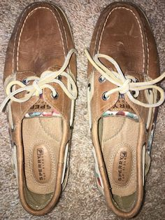 0c97bea6737f Sperry Top-Sider Angelfish Tan Lace-Up Boat Shoe Womens Size 6.5 M EUC   fashion  clothing  shoes  accessories  womensshoes  flats (ebay link)