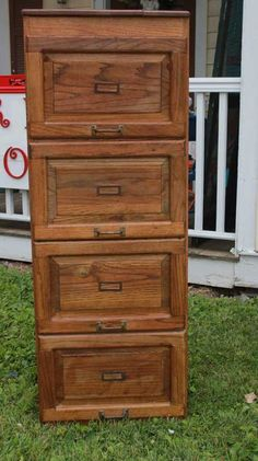Victorian Double Filing Cabinet | Antique Furniture | Pinterest ...