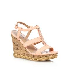 5223ceaecde0cf Call It Spring Coral  Terreti  high wedge sandals