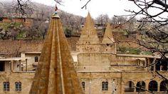 Yezidis sanctuary in Lalish