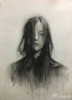 ideas drawing faces charcoal portraits - Everything About Charcoal Drawing and Sculpture L'art Du Portrait, Portrait Sketches, Art Sketches, Art Drawings, Pencil Drawings, Contour Drawings, Easy Charcoal Drawings, Charcoal Art, Charcoal Drawing Tutorial