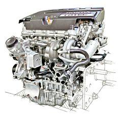 Honda engine.