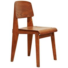 """Jean Prouvé Standard Chair """"Tout Bois"""", 1941 