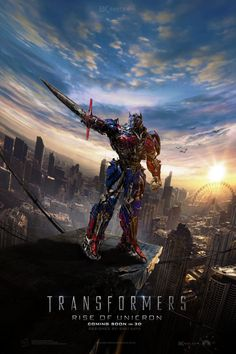 Transformers: The Last Knight Is Coming Soon