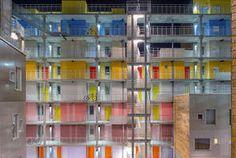 Studenten-Apartments, Grønneviksøren, 3RW arkitekter, Fassade
