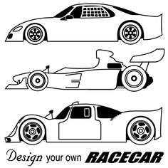 race cars coloring pages - Free Large Images