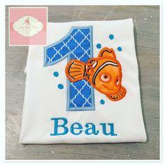 Embroidered Nemo design