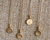 """.i have been looking for the perfect """"P"""" necklace...one that is pretty, kind of organic looking and quality enough to last a long long time :)"""