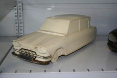 OG | 1961 Citroën Ami 6 - Project M | Scale clay mock-up
