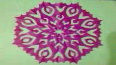 Paper cutting designs - YouTube