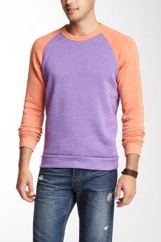 Colorblocked Champ Sweater by Alternative Apparel Men on @HauteLook
