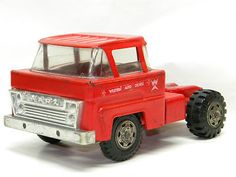 Vintage Metal MARX TOY Western Auto Semi Truck Old Antique Pressed Steel Toys