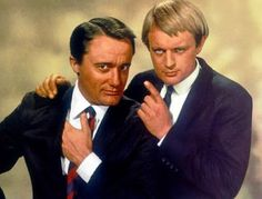 'The Man From U.' Robert Vaughn, left, played Napoleon Solo, and David McCallum was Illy Robert Vaughn, James Bond, Man From Uncle Tv, Spy Shows, Mejores Series Tv, Napoleon Solo, David Mccallum, Joan Crawford, Comedy Movies