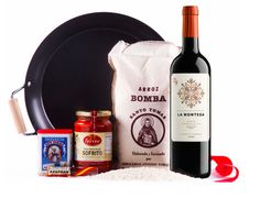 Paella with 91 Point Spanish Wine Gift Set