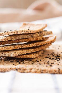 Bezglutenski krekeri od kikirikija i sjemenki