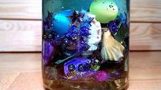 magic bottle (is made for the kindergarten where i work) Magic Bottles, Snow Globes, Kindergarten, Artwork, Home Decor, Work Of Art, Decoration Home, Auguste Rodin Artwork, Room Decor