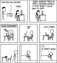 xkcd is great.