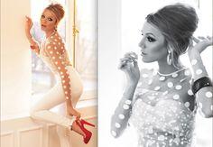 Blake Lively has some beautiful Christian Louboutin! Latest Fashion Trends, Fashion News, Lauren Bush, Polka Dot Wedding, Hairstyles Over 50, Perfectly Posh, Blake Lively, Gossip Girl, Retro