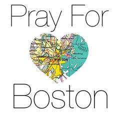 Our thoughts and prayers are with those in Boston.