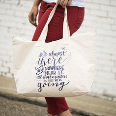 """Going"" Tote Gilmore girls Urban Tees, Gilmore Girls Quotes, Handmade Shop, Printed Tees, Favorite Tv Shows, Kids Fashion, Shops, Group, Shopping"