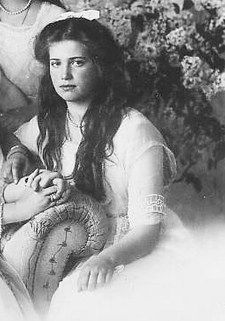 "The third of Nicholas II and Alexandra daughters, Maria is often referred to as her grandfather Alexander III's ""mini-me"". More Slavic in appearance than any of her sisters, she was a great beauty."