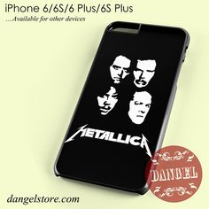 Metallica Group Band Phone case for iPhone 6/6s/6 Plus/6S plus