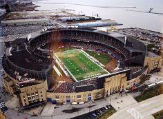 Municipal Stadium - NU home game 1991