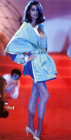 Gianni Versace Haute Couture Atelier Fall 1991 / Yasmeen