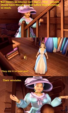 Barbie Princess and the Pauper Madam Carp Put down. I really wish her and Primenger could have met. What horrid children they could have had. I hated that woman Dreamworks Animation, Disney And Dreamworks, Disney Pixar, Barbie Movies, Disney Movies, Childhood Movies, My Childhood, Princess And The Pauper, Good Comebacks