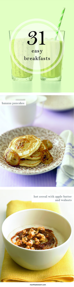 Easy Breakfasts | Martha Stewart Living