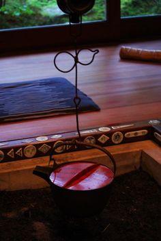 Japanese open hearth, Irori 囲炉裏