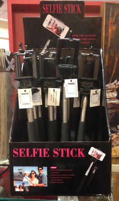 The Selfie Stick! Clip your phone onto the stick for an added focal range so nobody gets cropped out while taking selfies! This gift is perfect for high school as well as college students.