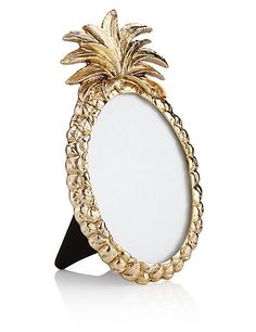 "Pineapple Photo Frame 3.5 x 5cm (1.4 x 2"")"