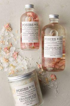 Slide View: Posies & Co. Body & Hair Oil Sucker for packaging Beauty Care, Diy Beauty, Beauty Skin, Organic Skin Care, Natural Skin Care, Organic Beauty, Natural Oils, Body Polish, New Skin